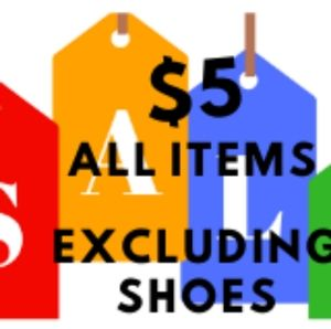 Everything $5 when you buy 2 or more